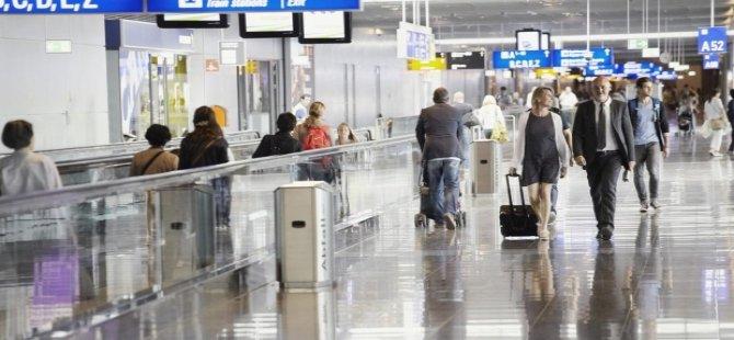 O havalimanında uçuşlar iptal edildi