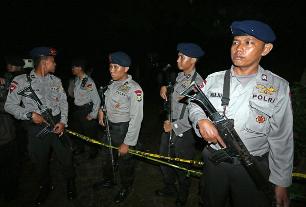 Endonezya'da yeni yılda terör operasyonu