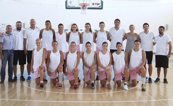 Girne Üniversitesi kadın basketbol takımının turnuva heyecanı başlıyor