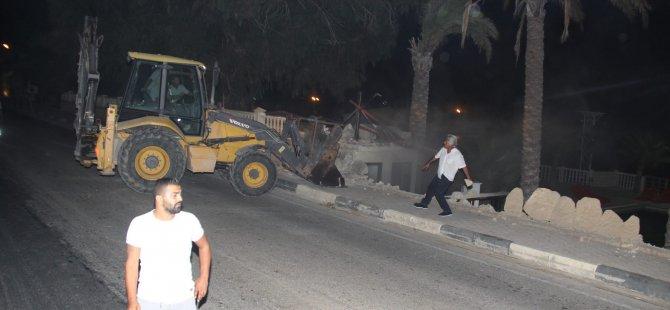 Son Dakika: Boğaz Otel'de yıkım yapıldı
