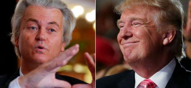 """""""Wilders ve Trump, IŞİD ile benzer taktikler kullanıyor"""""""