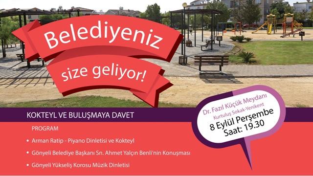 'Belediyeniz Size Geliyor', Dr. Fazıl Küçük Meydanı'nda