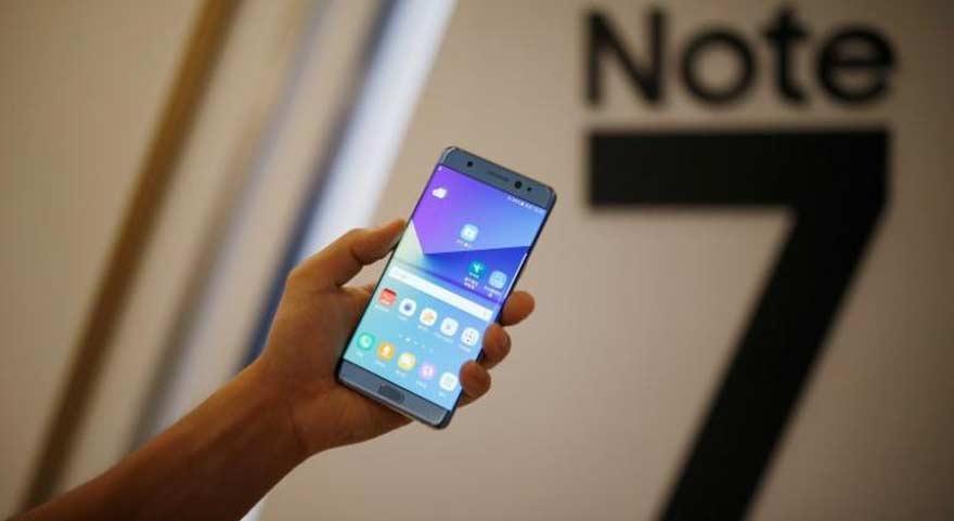 Samsung'tan Note 7 açıklaması