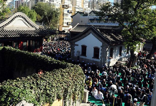 Çin'de camide izdiham: 14 ölü