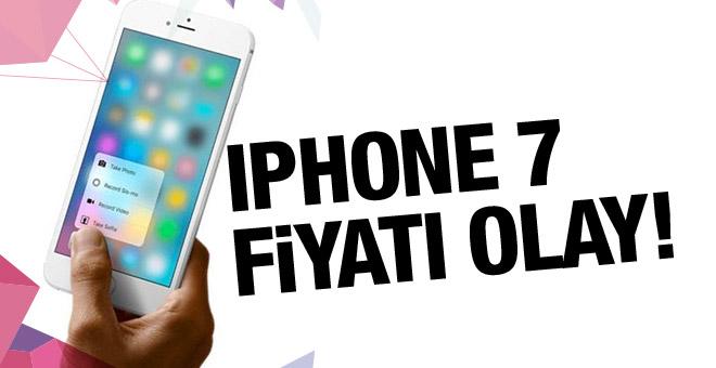 iPhone 7 fiyatı dudak uçuklatıyor