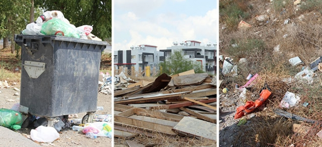 Hamitköy Bölgesi çöplüğe dönüştü...