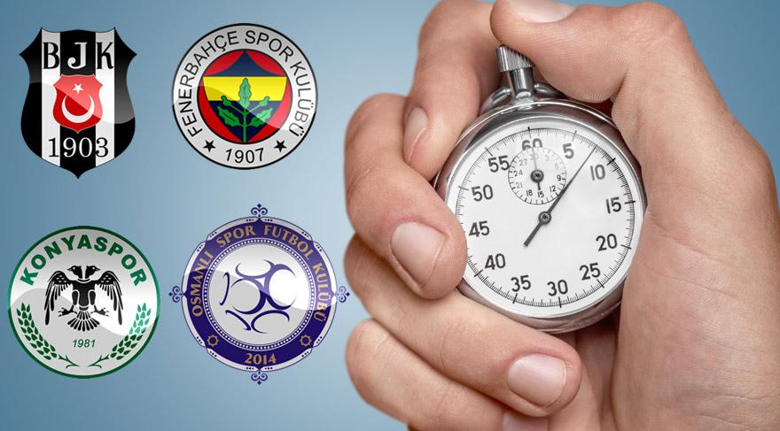 Yaz saati uygulaması tüm yıla yayıldı, maçların başlama saatleri değişecek!