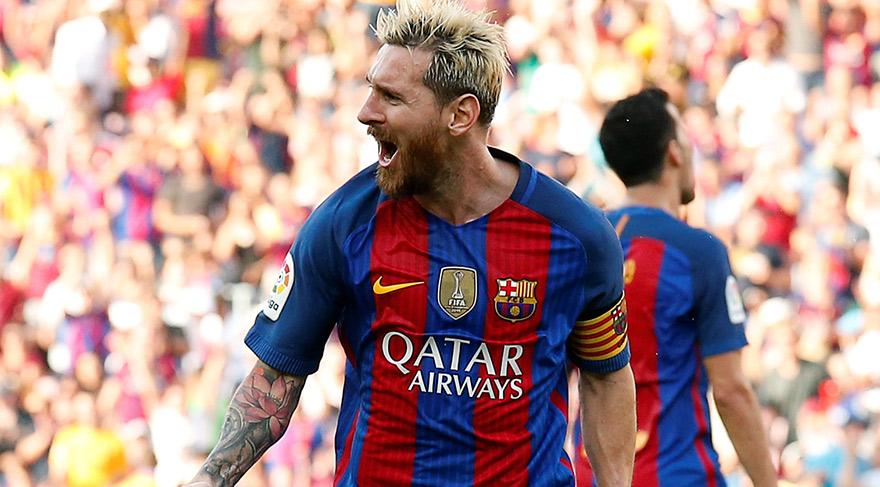 Barcelona'ya ikinci Messi