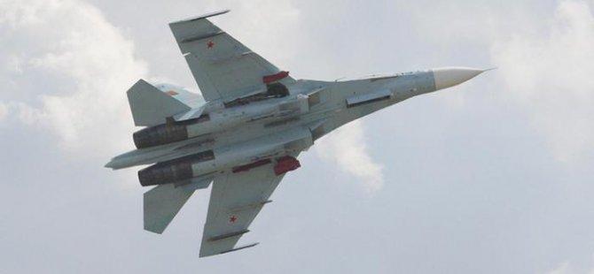 Rus ve ABD uçaklarının tehlikeli geçişi