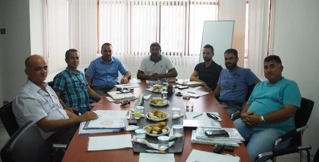 Kıbrıs Türk Elektrik Müteahhitleri Birliği Yöneticilerini ziyaret