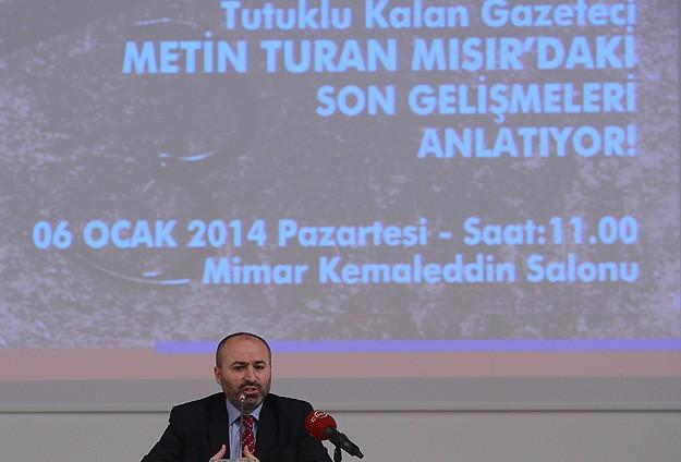 Gazeteci Turan tutukluluk günlerini anlattı