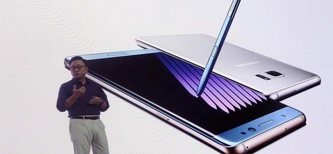Uçaklarda Samsung Galaxy Note 7 uyarısı