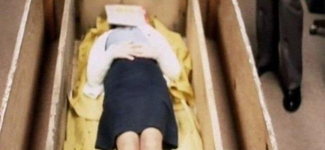7 sene boyunca bir tabutta tutularak işkence gören kadının öyküsü beyaz perdede...