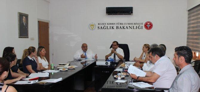 Sağlık hizmetleri danışma kurulu toplandı