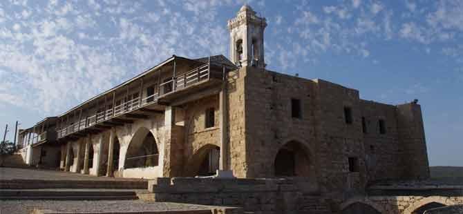 Apostolos Anderas Manastırı'nın ilk aşaması tamamlanıyor