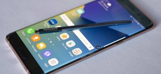 Samsung'tan yeni bir Galaxy Note 7 açıklaması!