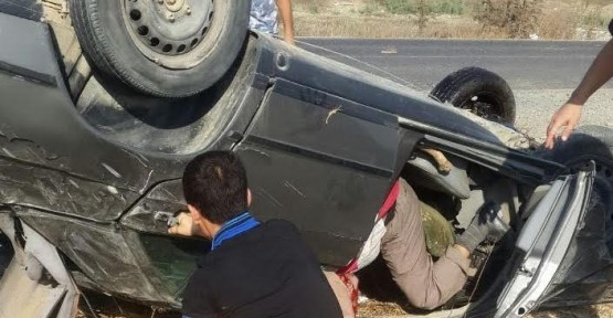 Lefkoşa- Güzelyurt yolundaki Yılmazköy kavşağında kaza!