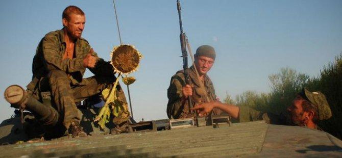 Ukrayna'nın doğusunda silahlar susuyor