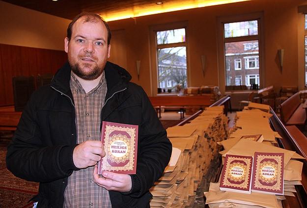 Hollanda'da Kur'an-ı Kerim'e büyük ilgi