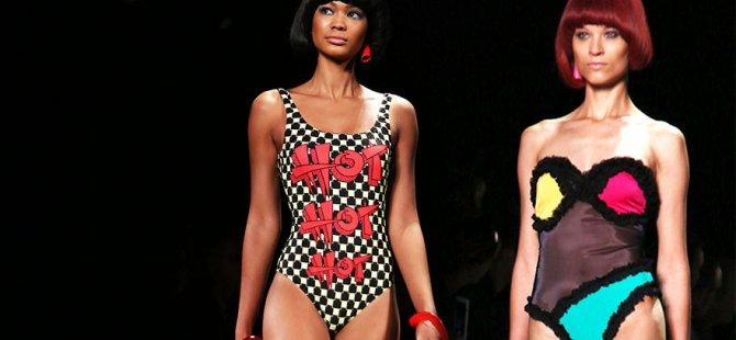 New York Moda Haftası'nda Jeremy Scott'ın eğlenceli kreasyonu