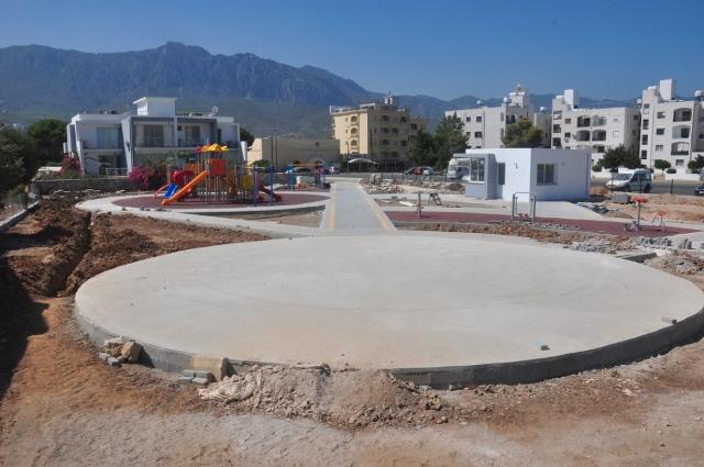 Kervansaray Yeşil Alan ve Çocuk Parkı Projesi tamamlanıyor