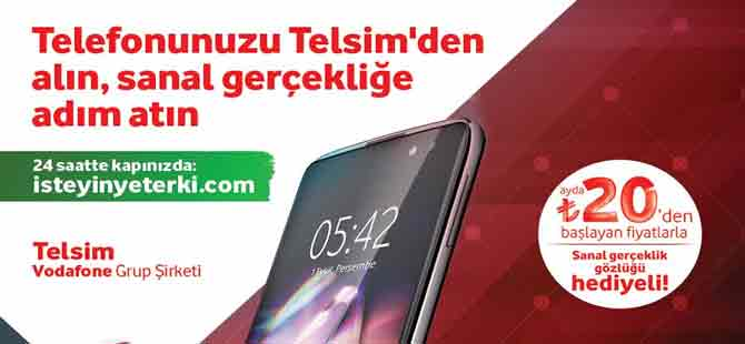Alcatel Idol 4 sanal gerçeklik gözlüğü hediyesi ile Telsim'de