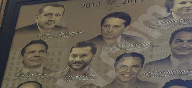 Küba'da bu bara gidenleri Erdoğan portresi karşılıyor