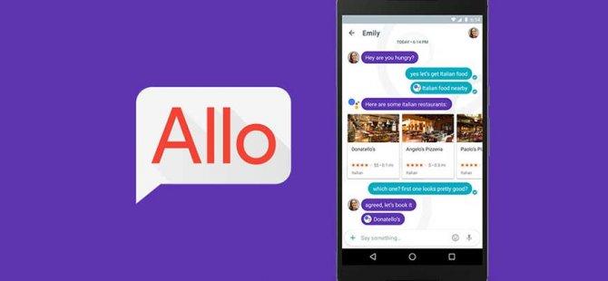 Google Allo nihayet çıkıyor!