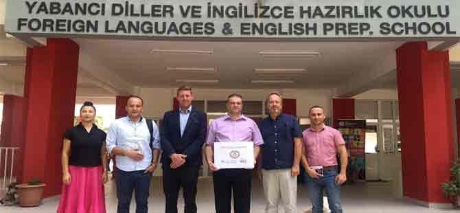 DAÜ Yabancı Diller ve İngilizce Hazırlık Okulu'ndan eğitimde işbirliği