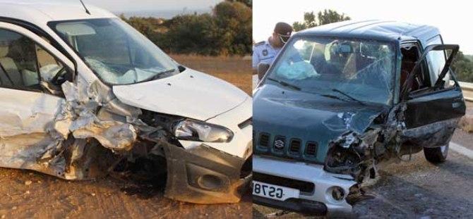 Pamuklu- Kumyalı yolunda kaza