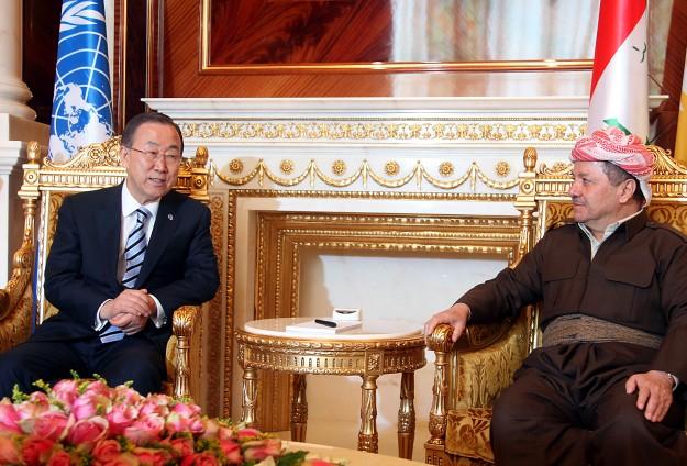 BM Genel Sekreteri Ban Irak'ta