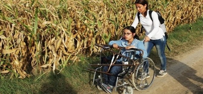 Suriyeli mülteci, tekerlekli sandalyeyle 3 bin 500 km yol aldı