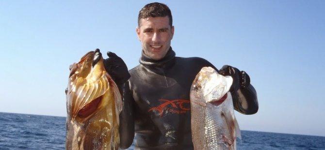 Georgios Vasiliou Dünya Zıpkınla Serbest Dalış şampiyonasında birinci geldi