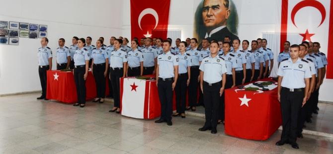 Polis örgütü kadrosuna 45 yeni Polis