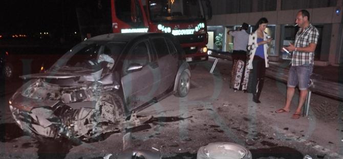 Değirmenlik Dağyolu'nda kaza...