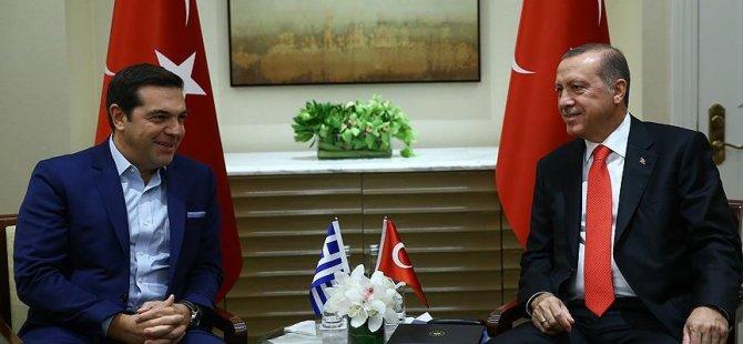 New York'ta Erdoğan ve Çipras görüştü