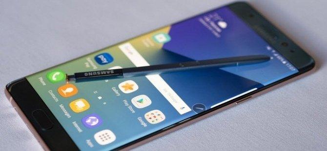 Bataryası patlayan Samsung Galaxy Note 7, yüzde 60'dan fazla şarj olamayacak!