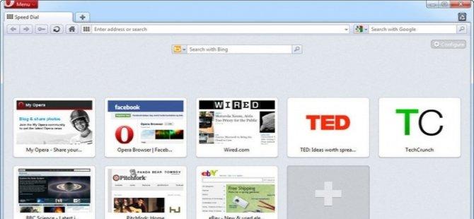 Erişim engellerine çözüm VPN yüklü Opera