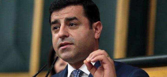 Demirtaş Barzani'den destek istedi
