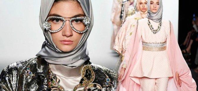 New York Moda Haftası'nda başörtülü defile