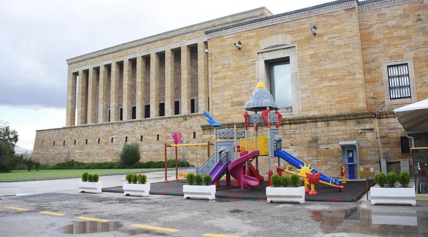 Anıtkabir'e oyun parkı tepki çekti