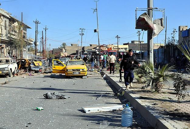 Irak'ta hava bombardımanı: 9 ölü