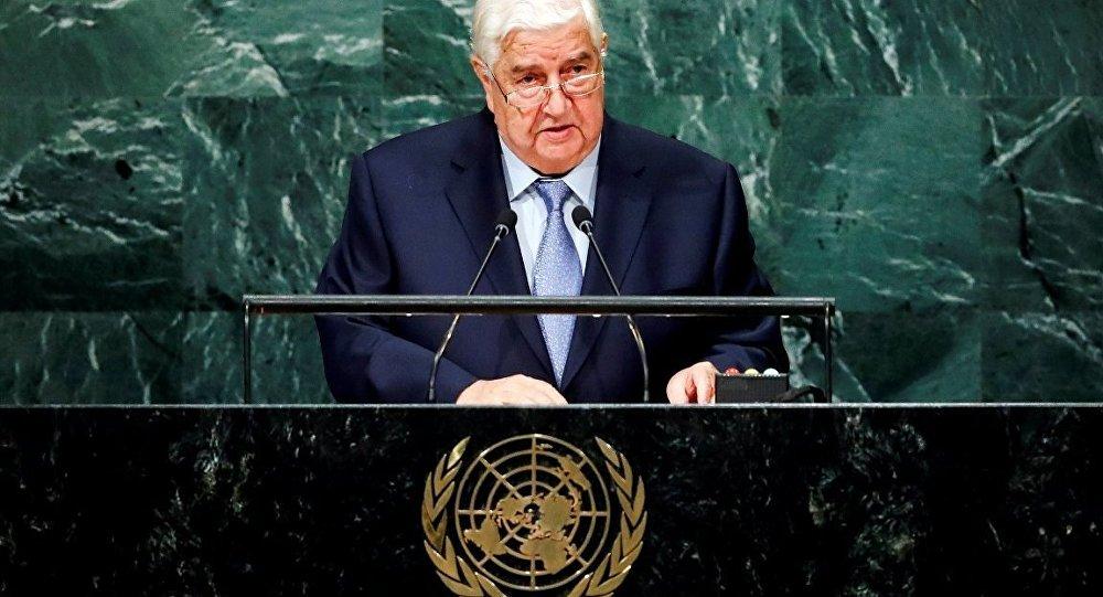 Suriye Dışişleri Bakanı: Türkiye acilen topraklarımızı terk etmeli