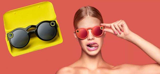 Snapchat video çeken gözlüğünü piyasaya sürüyor