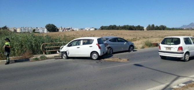 Yine Kiralık araç, yine kaza...