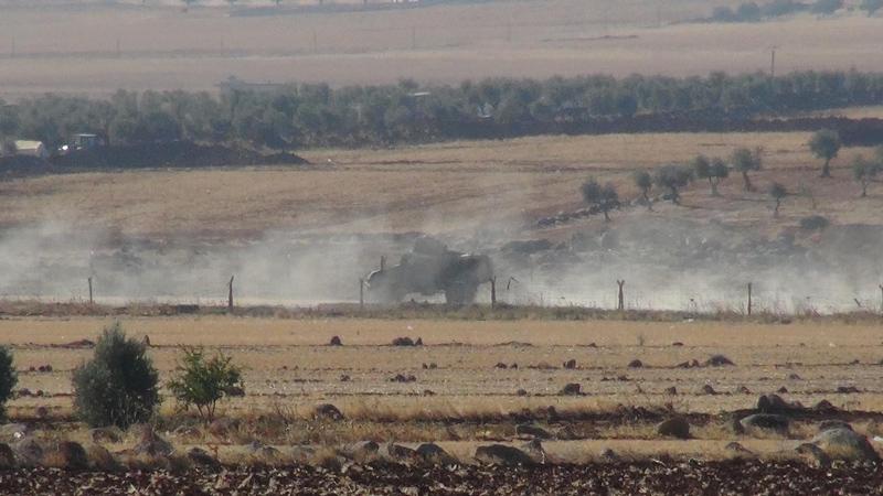 Suriye sınırında hareketli saatler