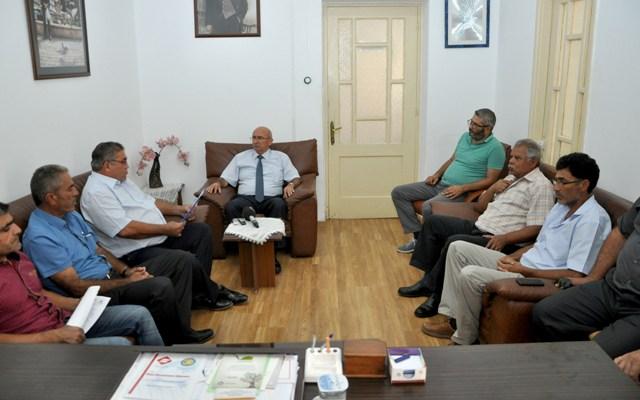 Kıbrıs Türk İnşaat Taşeronları Birliği, TDP'yi ziyaret etti