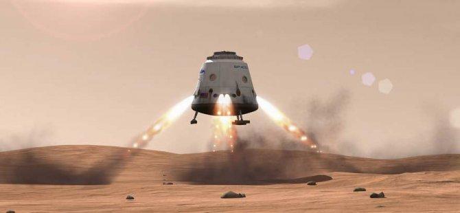 Mars'ta koloni kuruluyor!