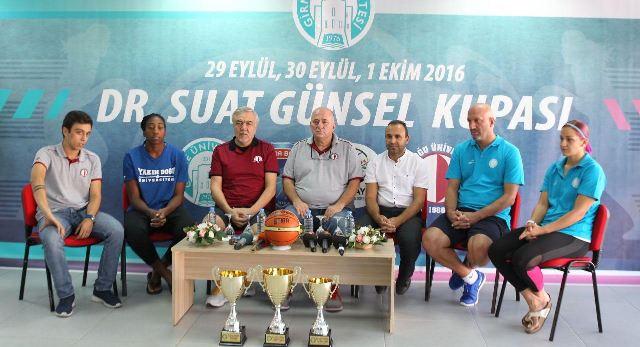 Dr. Suat Günsel Kupası başlıyor…