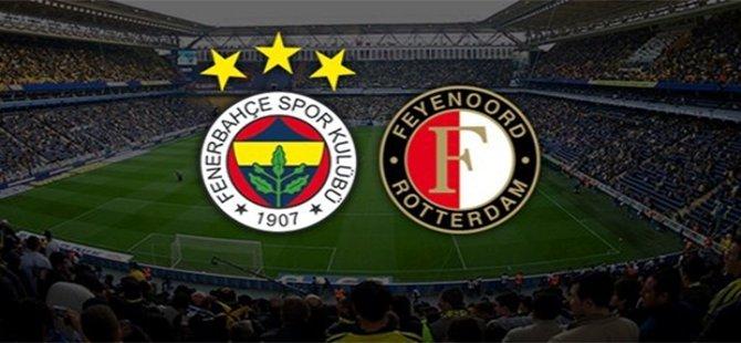 Fenerbahçe Avrupa'da Feyenoord'u konuk ediyor